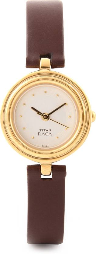 Titan NH2498YL01 Raga Analog Watch  - For Women