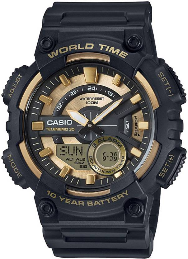 Casio AD206 Youth Series Analog-Digital Watch  - For Men