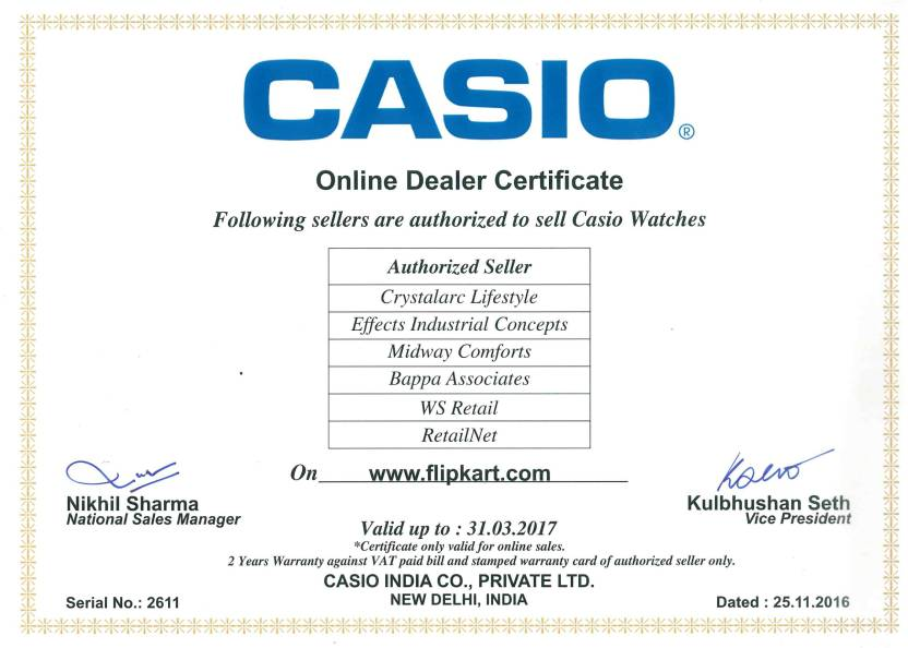 Casio AD203 Youth Series Analog-Digital Watch  - For Men