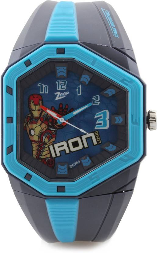 Zoop C3036PP11 Iron Man Watch - For Boys & Girls