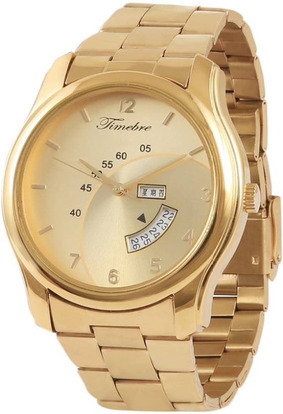 Timebre MXGLD221-5 Original Gold Plating Watch - For Men