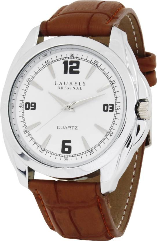 Laurels Lo-Dip-301s Diplomat Watch - For Men