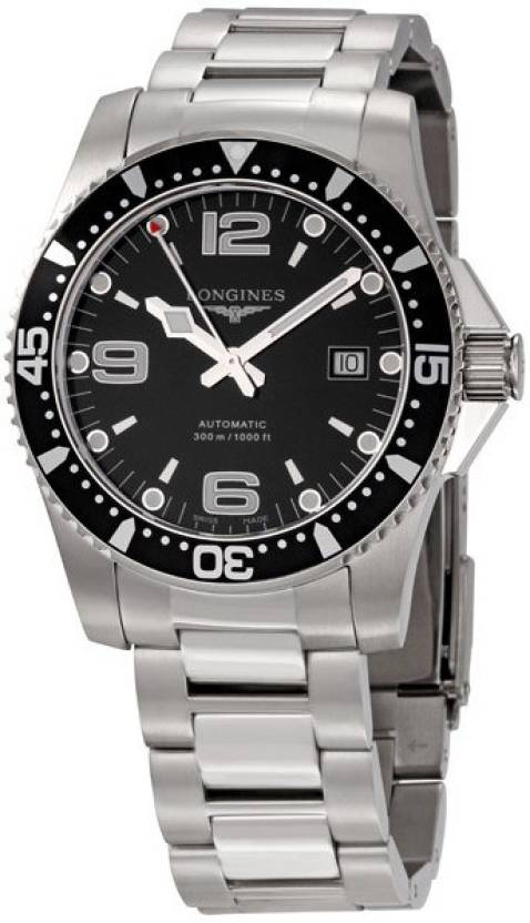 d98fd2f90 Longines L3.642.4.56.6 HydroConquest Watch - For Men - Buy Longines  L3.642.4.56.6 HydroConquest Watch - For Men L3.642.4.56.6 Online at Best  Prices in India ...