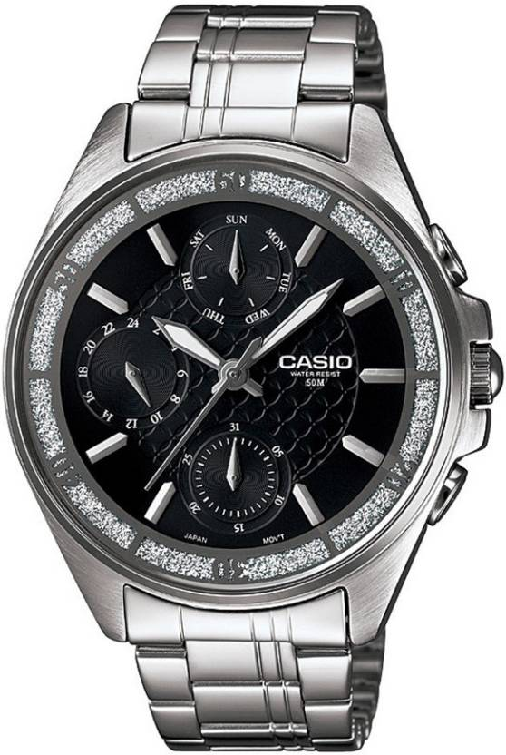 Casio A855 Enticer Ladies Analog Watch  - For Women