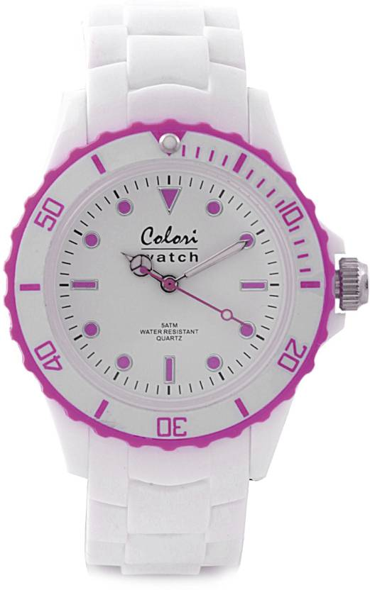 254233470c Colori 5-COL020 White Summer Watch - For Men & Women - Buy Colori 5-COL020  White Summer Watch - For Men & Women 5-COL020 Online at Best Prices in  India ...