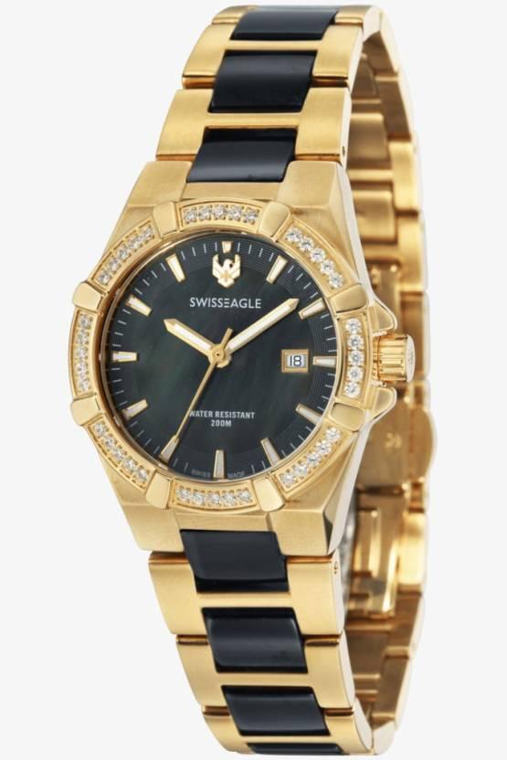 Swiss Eagle SE-6041-4M Analog Watch  - For Women
