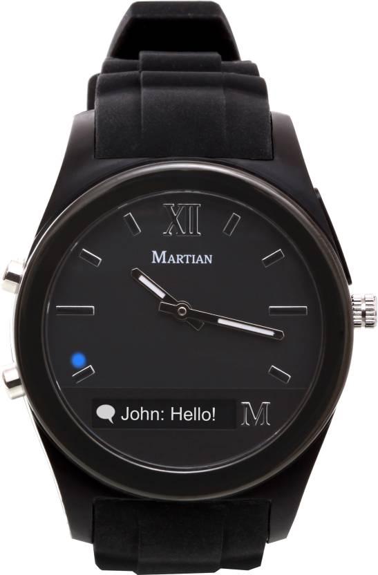Martian MN200BBB Notifier Watch  - For Men & Women