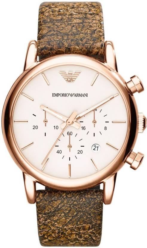 7ada1ae79 Emporio Armani AR1809 LUIGI Watch - For Men - Buy Emporio Armani ...