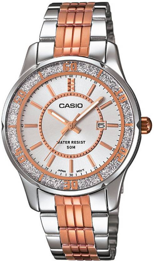 Casio A896 Enticer Ladies Analog Watch  - For Women