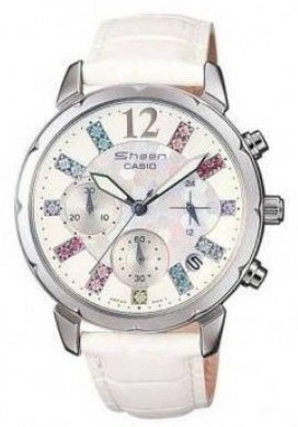 Casio SH161 Sheen Analog Watch  - For Women