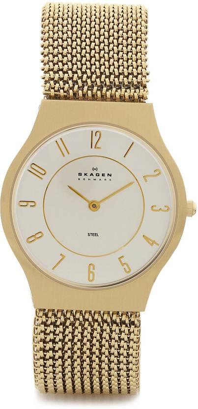 2050c8e3e13 Skagen 233LGG2M GRENEN Watch - For Women - Buy Skagen 233LGG2M ...
