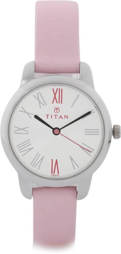 Titan NF2481SL01 Purple Watch  - For Women