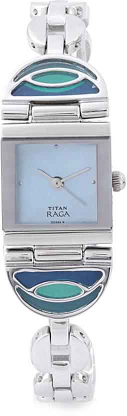 Titan 2500SM02 Raga Analog Watch  - For Women