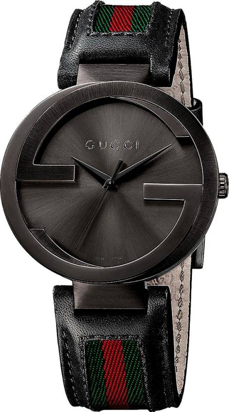 3f06e7a7f76 GUCCI YA133206 Interlocking Collection Watch - For Men - Buy GUCCI YA133206  Interlocking Collection Watch - For Men YA133206 Online at Best Prices in  India ...