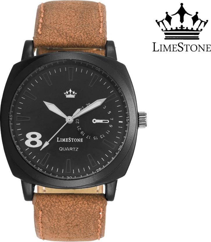 LimeStone LS2632 Analog Watch - For Men