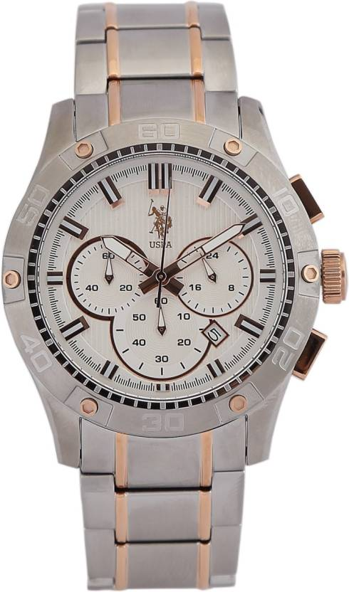 U.S. Polo Assn. USAT0105 Analog Watch  - For Men