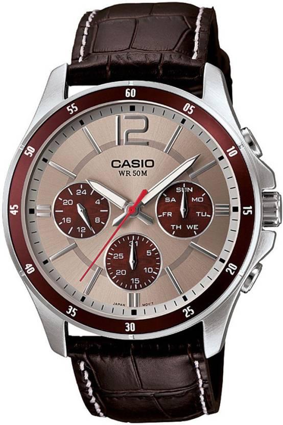Casio A955 Enticer Men Analog Watch  - For Men