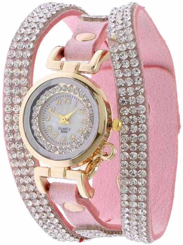 Felizo Leather straps Designer Fancy Watch - For Girls - Buy ...
