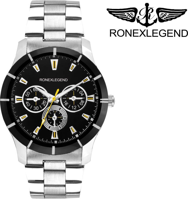 Ronexlegend RXD 4019 BLACK ANALOG Watch - For Men