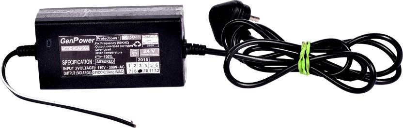 LIVE PURE MINERAL RO RO Power Supply SMPS 24V 2.5A GenPower Solid ...