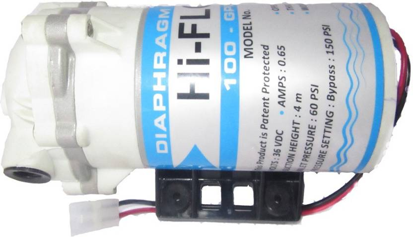 Live pure mineral ro hi flow 100 gpd ro booster pump for any water live pure mineral ro hi flow 100 gpd ro booster pump for any water purifier ccuart Images