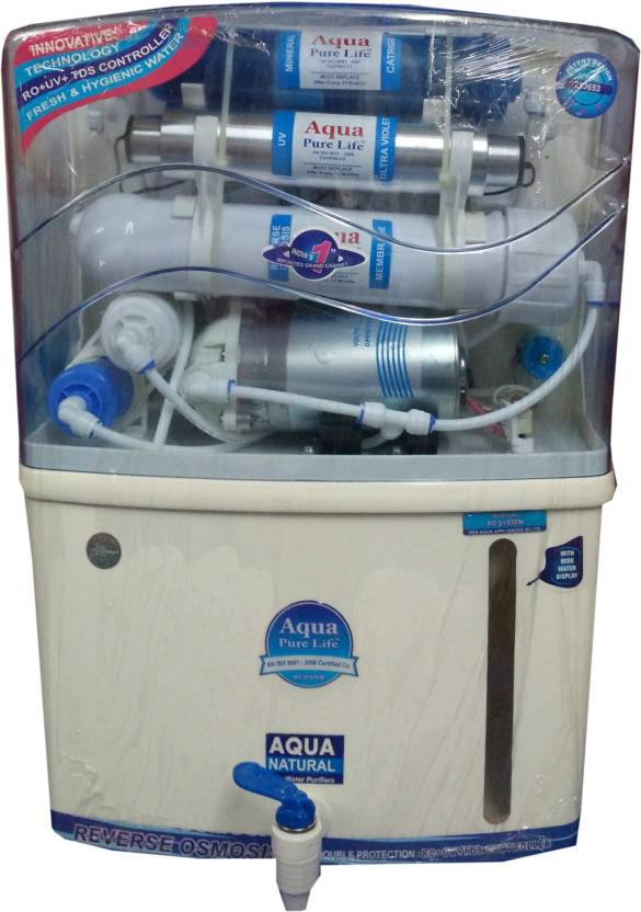 Aqua Pure Life Grand Plus 12 L RO + UV + UF Water Purifier