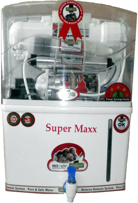 Super Maxx Royal 12 L RO + UV +UF Water Purifier