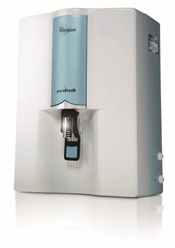 Whirlpool MINERALA 90 ELITE 8.5 L RO Water Purifier (White And Blue)