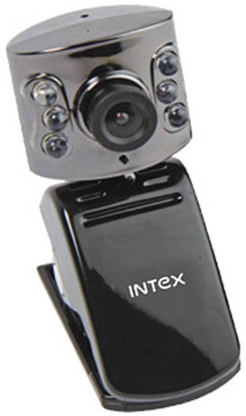Intex Intex Web Cam Night Vision 600k  Webcam (Black)