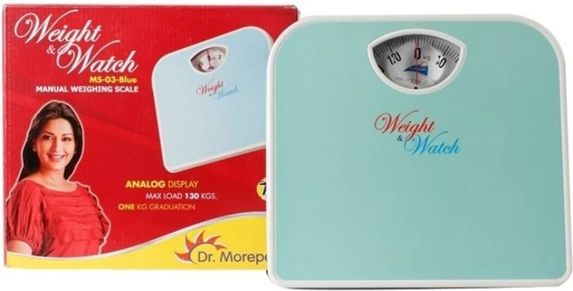 Dr morepen bathroom personal manual weighing scale machine.