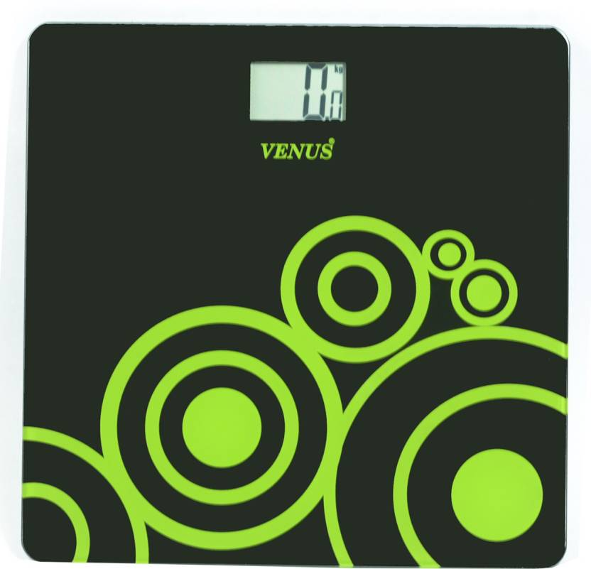 Upto 65% Off On Weighing Scales By Flipkart | Venus Digital LCD Personal Bathroom Health Body Weight Weighing Scale  (Black) @ Rs.699