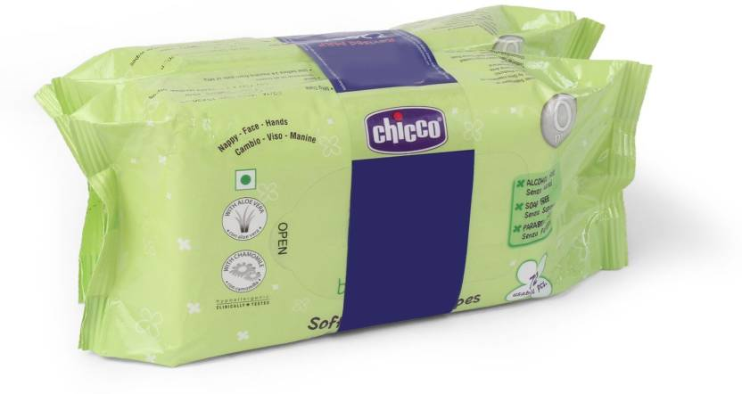 Chicco Bipack Soft Cleansing Baby Wipes
