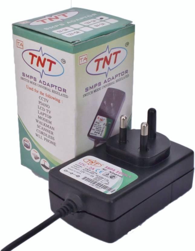 TNT SMPS Adopter Worldwide Adaptor Black - Price in India | Flipkart.com