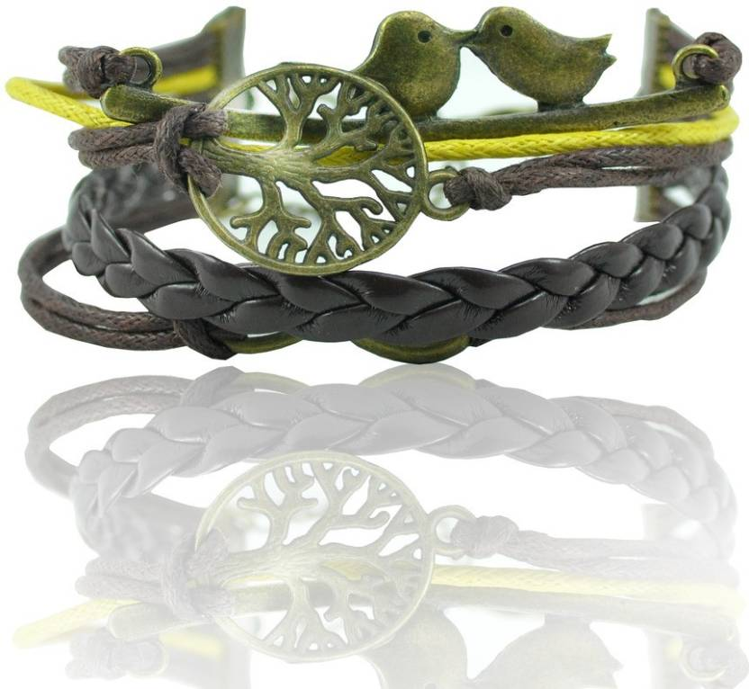 Alpha Man Leather Bracelet