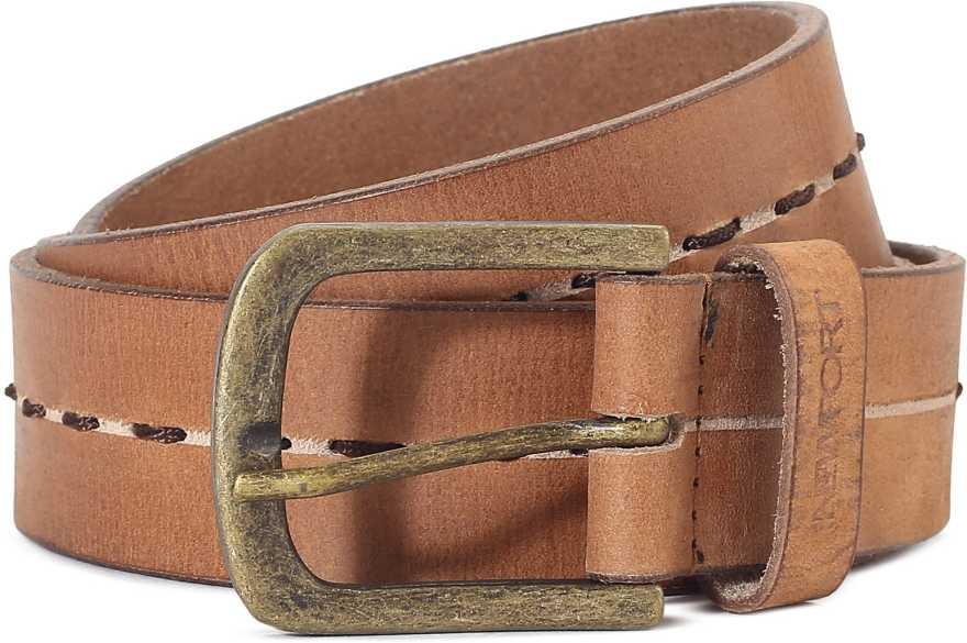 For 223/-(75% Off) Newport Men's Belts at Flipkart