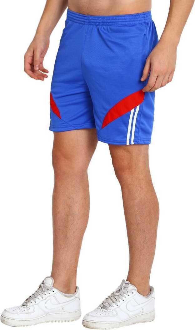 M.R.D.Self Design Men Blue Sports Shorts