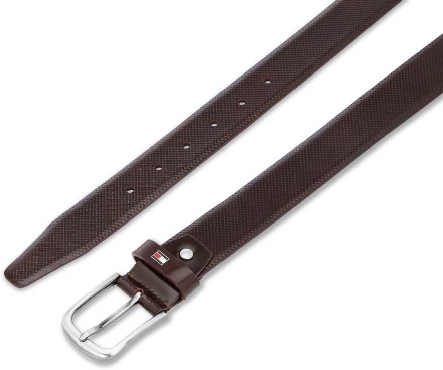 Tommy HilfigerMen Formal Brown Genuine Leather Belt