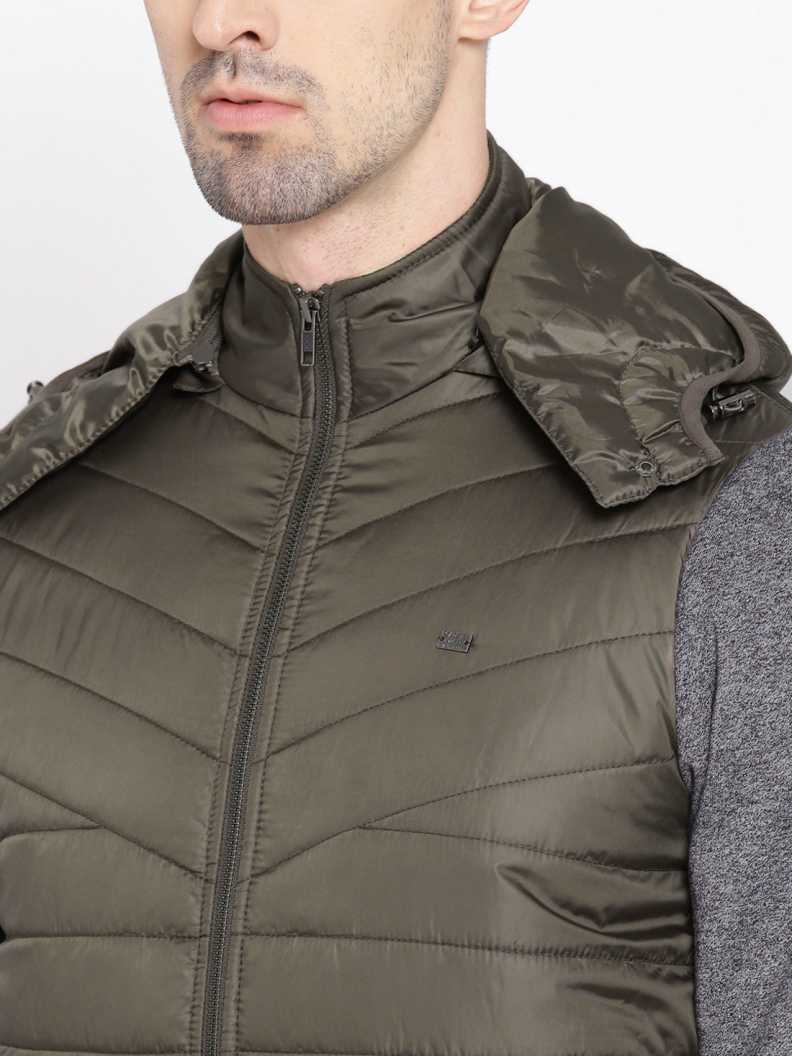 Roadster Full Sleeve Solid Men Jacket