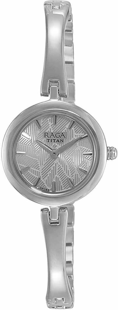 Titan 2553SM02 Raga Analog Watch   For Women