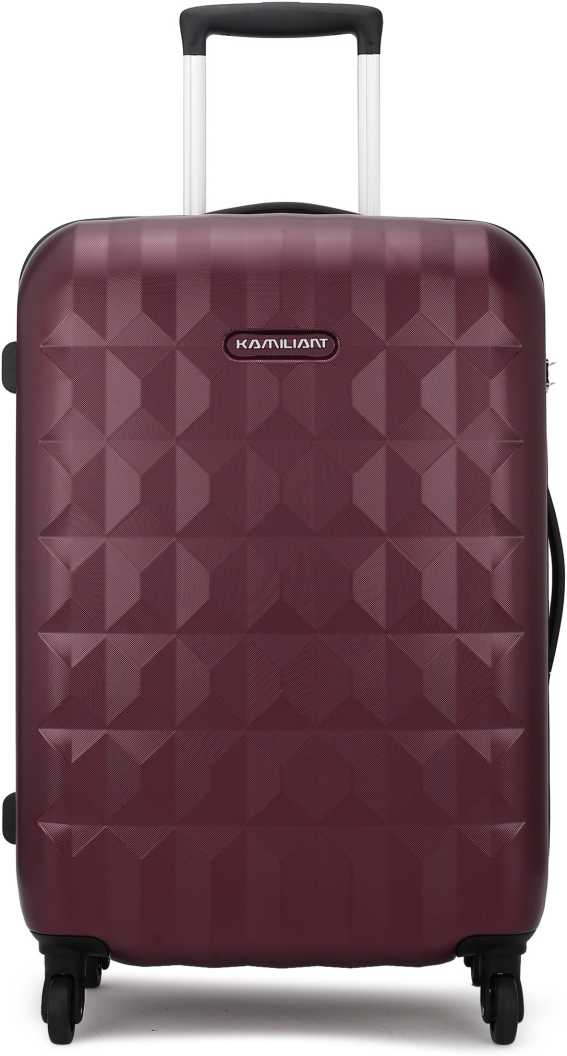 Kamiliant by American TouristerSmall Cabin Luggage (55 cm) – KAM SPECTRUM SP 55CM – RED – Maroon