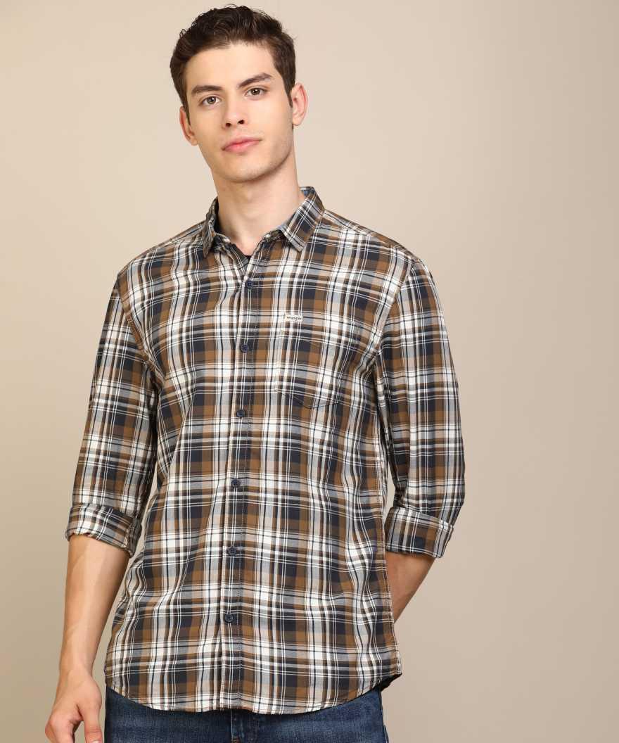 70% Off on Wrangler Men Casual Shirt