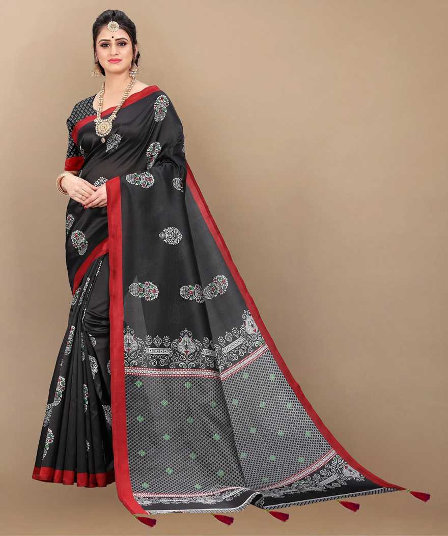 Kehara Printed Bollywood Art Silk Saree