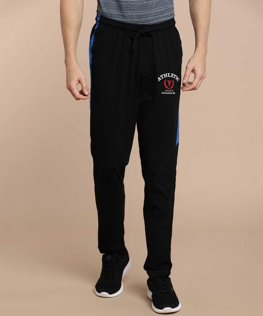 [Size M, L] VAN HEUSENSolid Men Black Track Pants