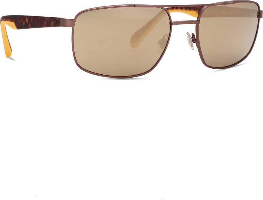 FOSSILOthers Rectangular Sunglasses (59)(For Men, Grey)