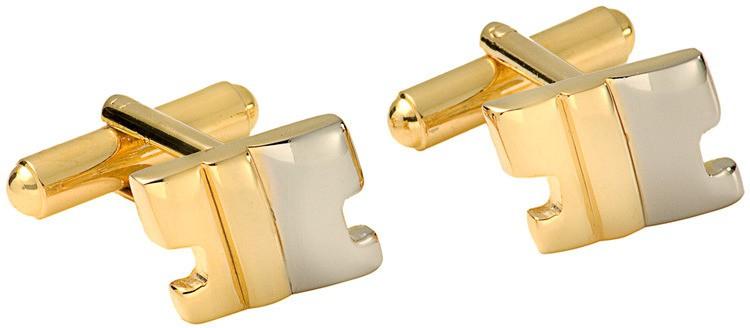 Gildermen Brass Cufflink(Gold)
