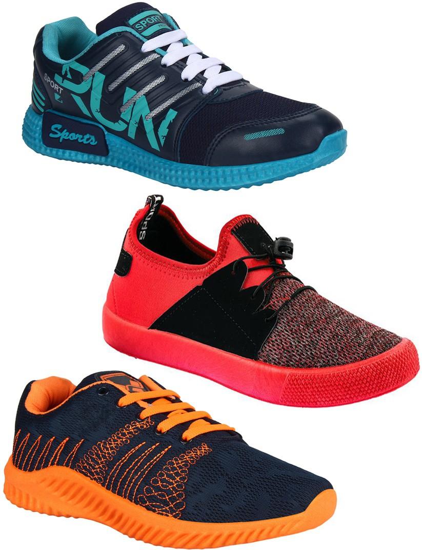 Earton Running Shoes For Men (Multicolor)