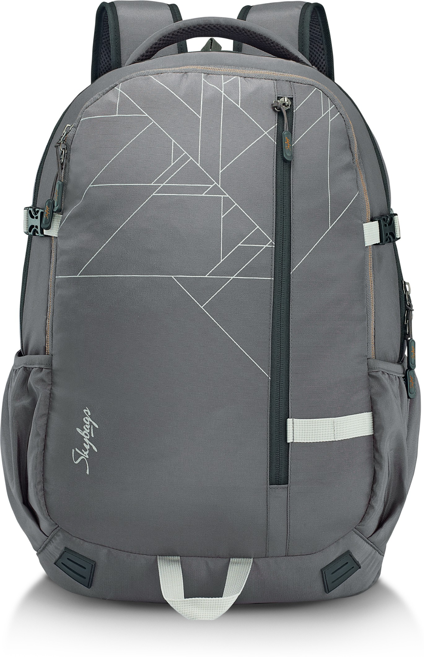 fb3f7297cea Skybags Teckie 01 Laptop Backpack Grey 42 L Laptop Backpack (Grey)