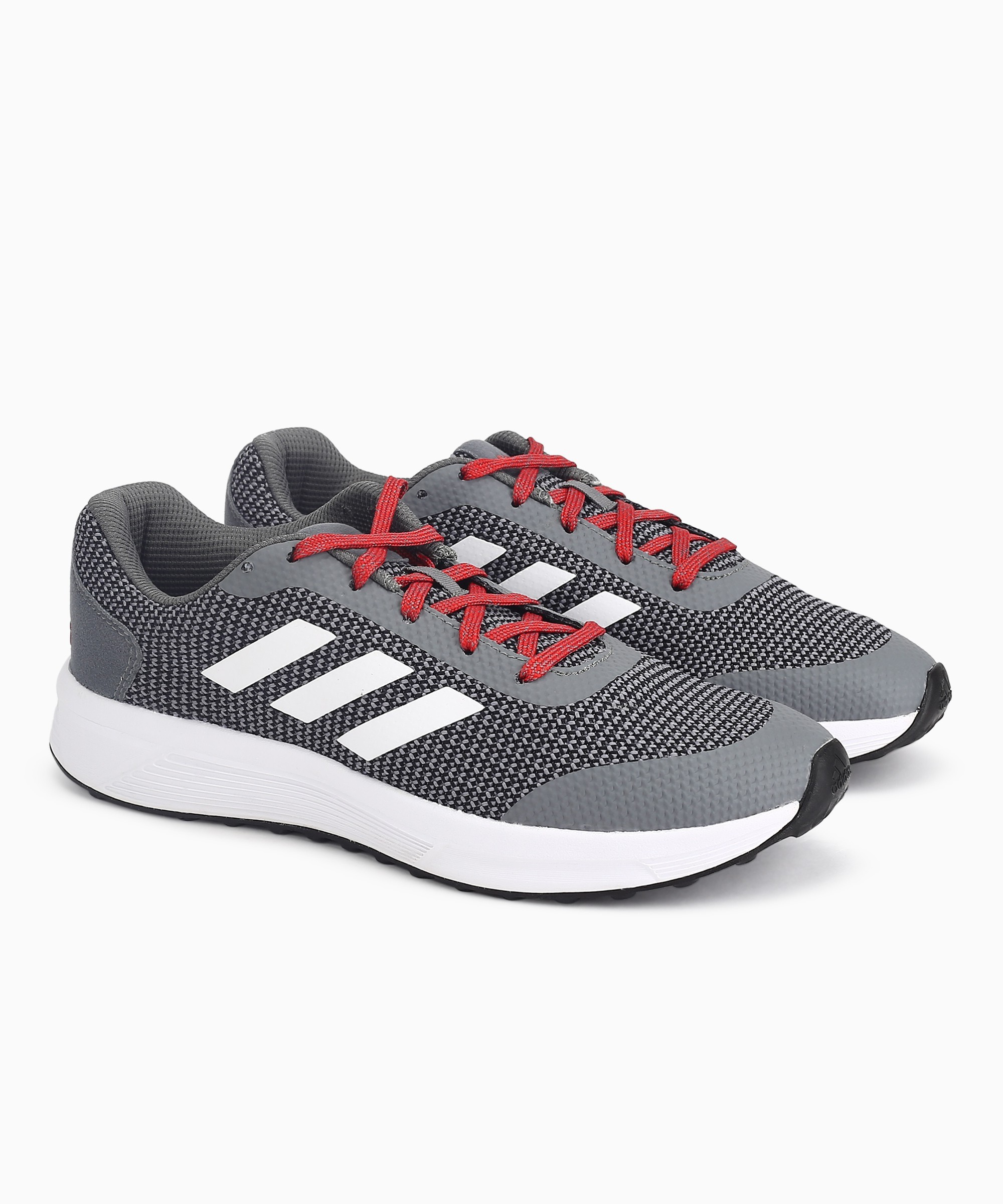 ADIDAS HELKIN 3 M Running Shoes For Men (Grey)