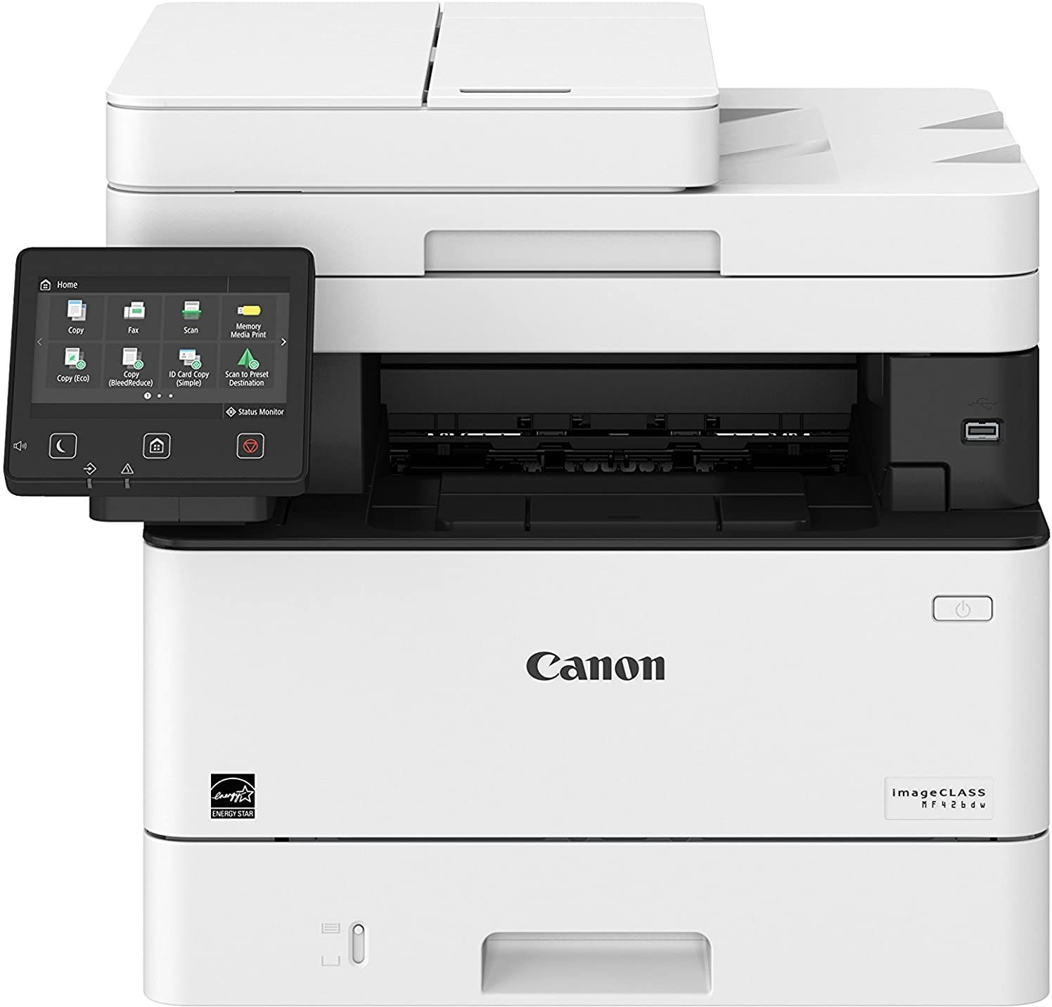 Canon ImageCLASS MF426dw Laser Printer All in One Duplex with WiFi, FAX Multi-function WiFi Color Printer (White, Toner Cartridge)