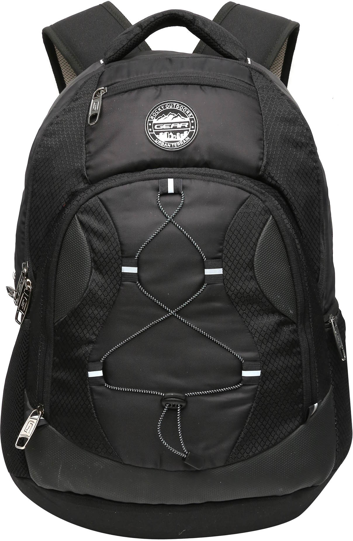 d39b3b3eb9 Gear lbpotlnr30109 Unisex Black Outlander 3 Waterproof Backpack ...